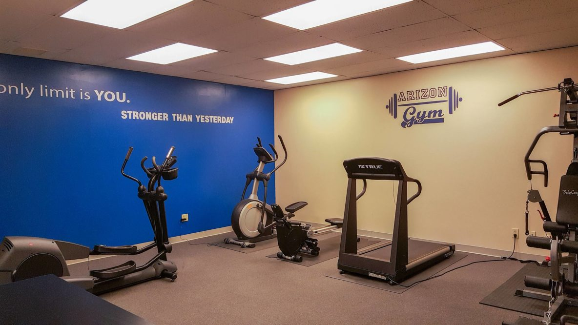 The Arizon Gym Workout Room Facility Arizon Family